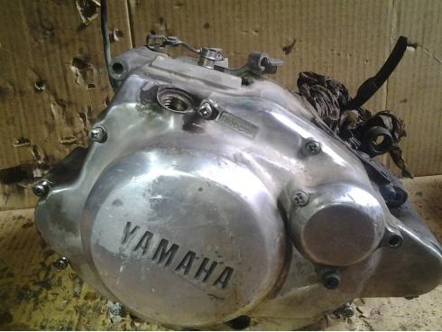 bas moteur complet 125 sr yamaha pi ce moto occasion p14280. Black Bedroom Furniture Sets. Home Design Ideas
